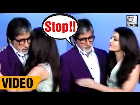 Amitabh Bachchan SHOUTS At Aishwarya Rai For Misbehaving!  LehrenTV