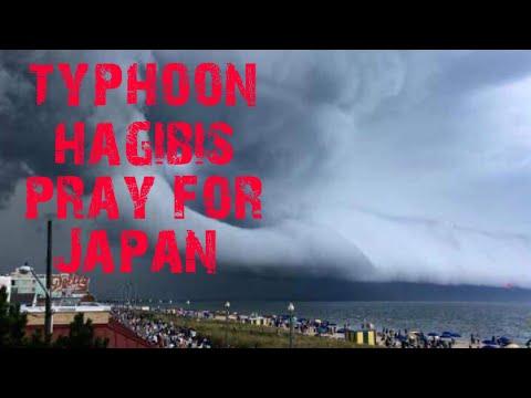 TYPHOON HAGIBIS is already battering in CHIBA  JAPAN #PRAYFORCHIBA#