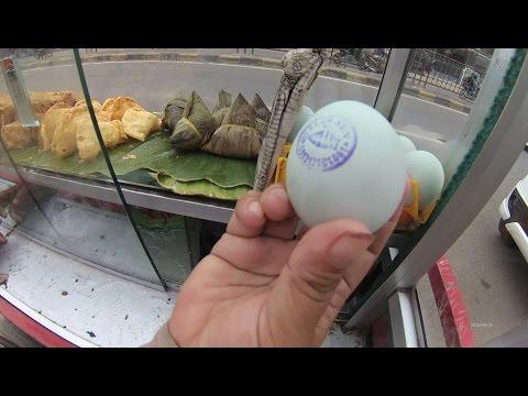 Greater Jakarta Street Food 873 Cikarang 4 Salty Egg Bacang 4K Bacang Telor Asin BR TiVi 5689