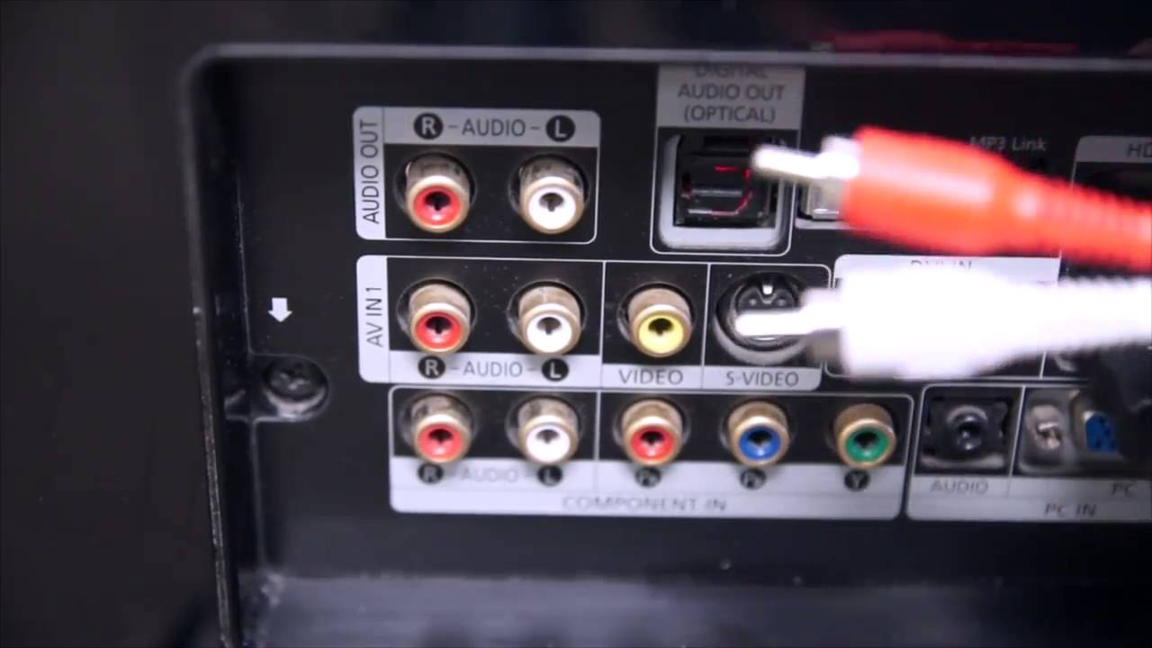 How to connect a TV 53