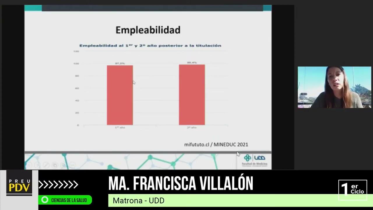 FRANCISCA VILLALÓN - Conoce Obstetricia UDD