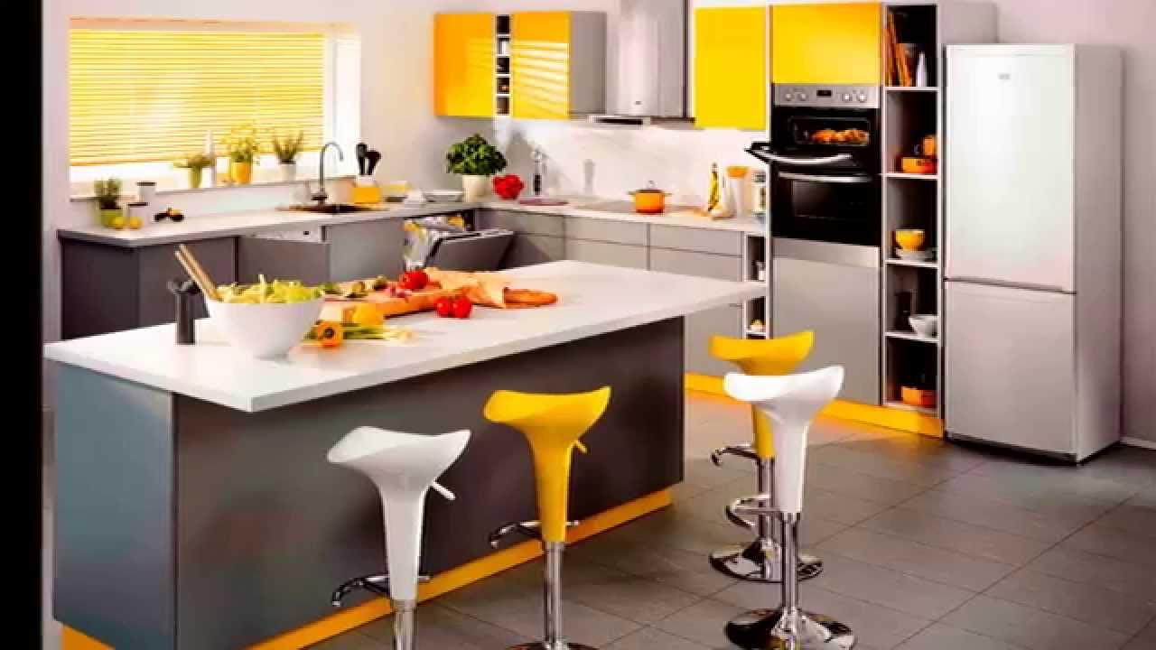 Cozinha Planejada Colorida Ao Aposte Em Fotos De Cozinhas
