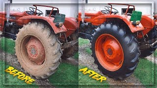 EXPERIMENT TRACTOR Washed after 30 YEARS