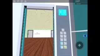 Thyssenkrupp MRL glass lift at noahmr06btcp world- roblox