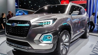 Subaru NAIAS 2017 (WRX STI, VIZIV-7 Concept, BRZ)