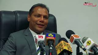 Minister Dayasiri Jayasekara explains the job role of Sanga, Mahela and Aravinda