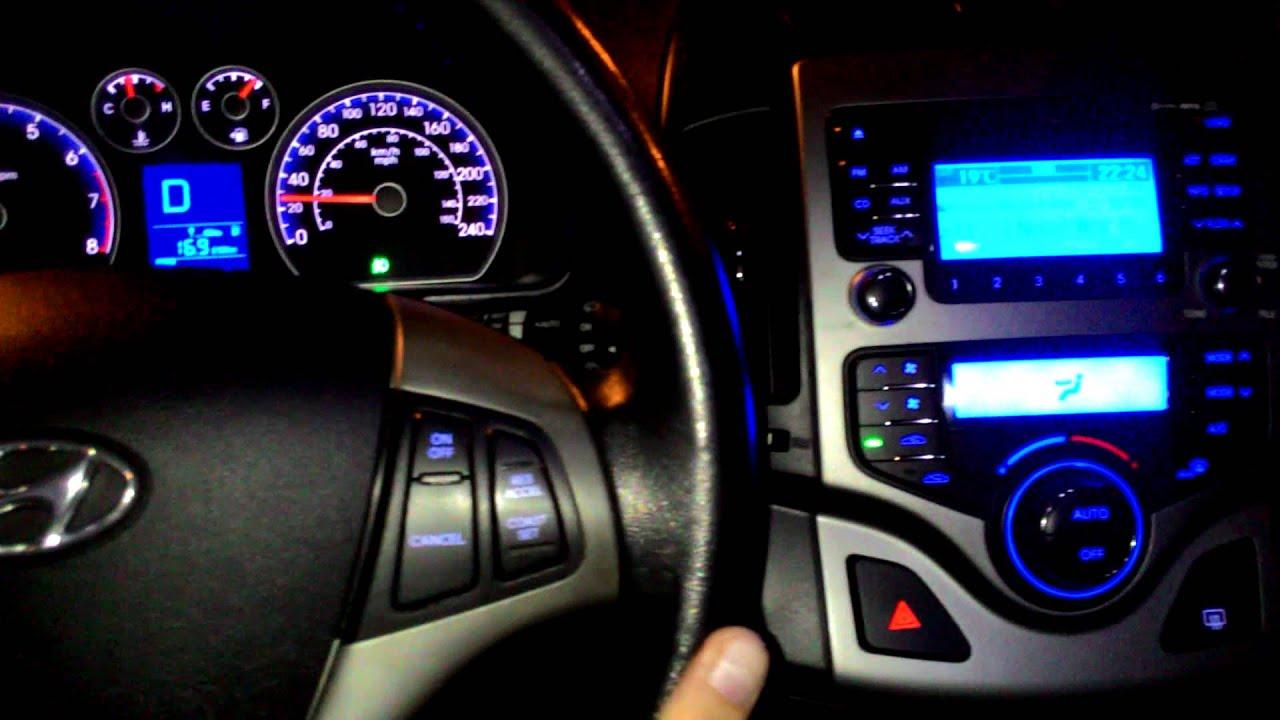 Hyundai I30 Andando A Noite Em S 227 O Paulo Youtube