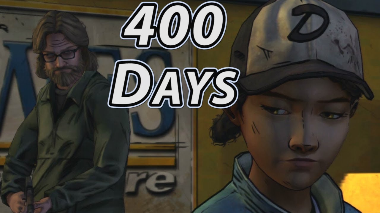 The Walking Dead Game 400 Days Characters In Season 2