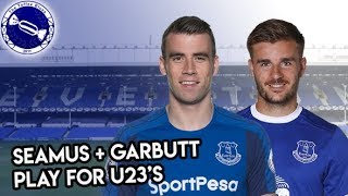 Toffee Blue View | Coleman and Garbutt Play for U23's