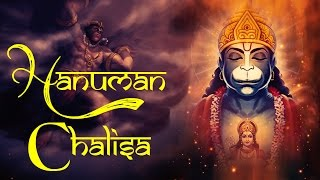 Shri Hanuman Chalisa With Lyrics in English -  Hanuman Jayanti Special Songs - Devotional Songs