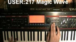 Roland Juno-G VOCAL/PAD demos (part 1 of 3)