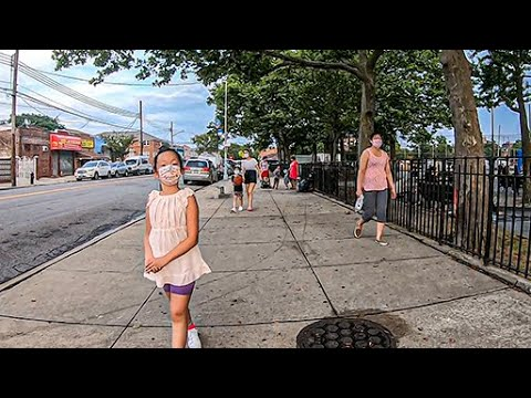 Walking In Brooklyn NYC - Bath Avenue Entire Length - Bath Beach Brooklyn And Bensonhurst