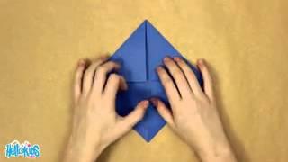 O moinho de vento origami (Hellokids)