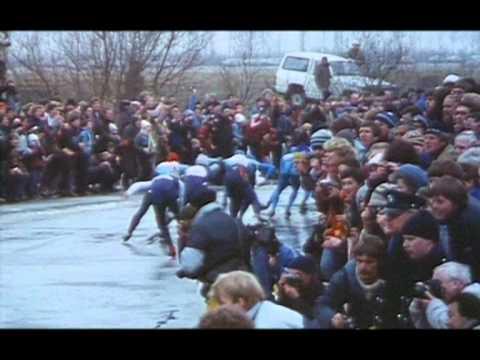 Elfstedentocht 13e 1985 Winnaar Evert Van Benthem Youtube