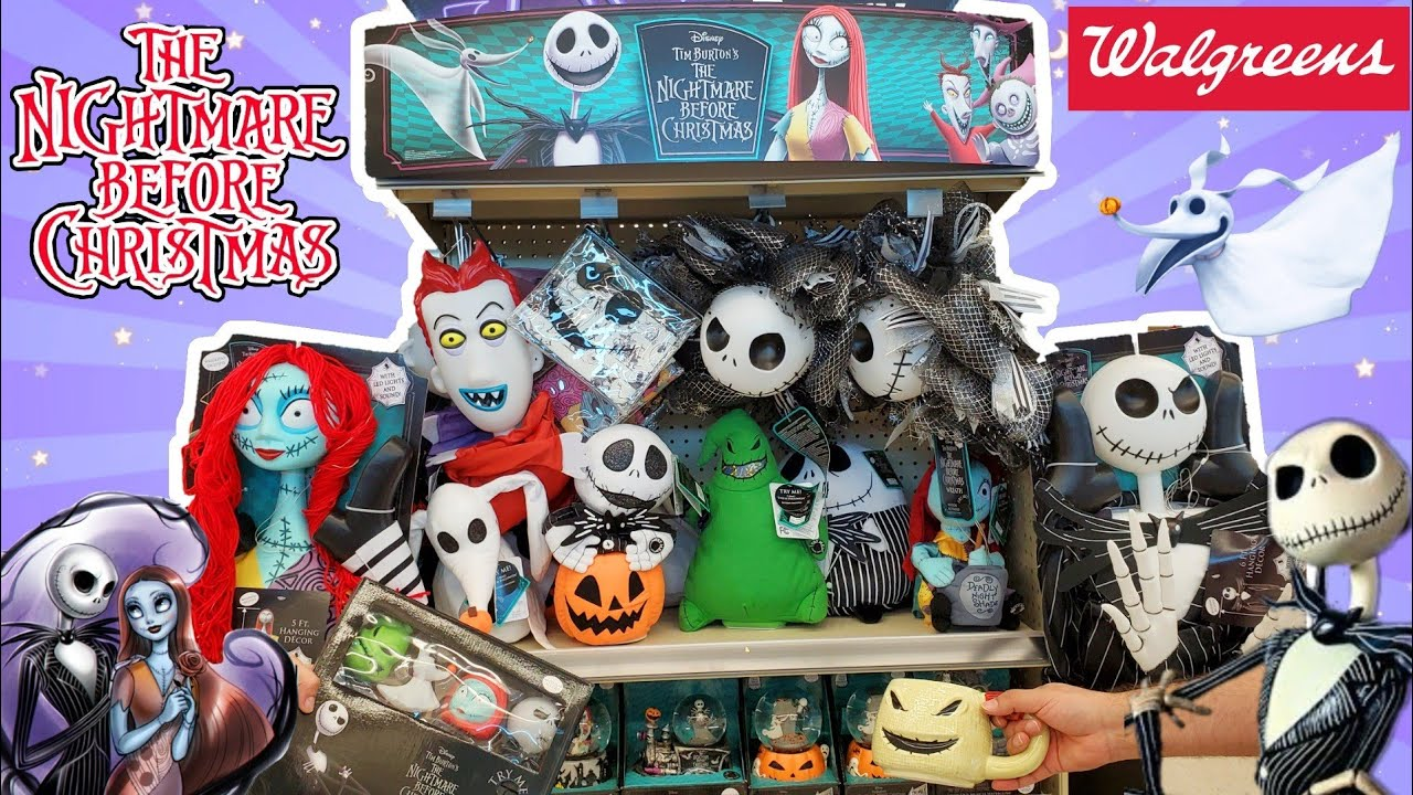 Nightmare Before Christmas Walgreens Collection 2020  Halloween