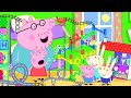 Peppa Pig Channel | The Biggest Marble Run Challenge with Peppa Pig