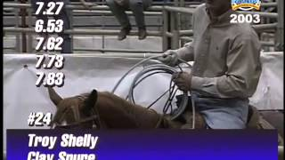 bfi team roping top 5 2003