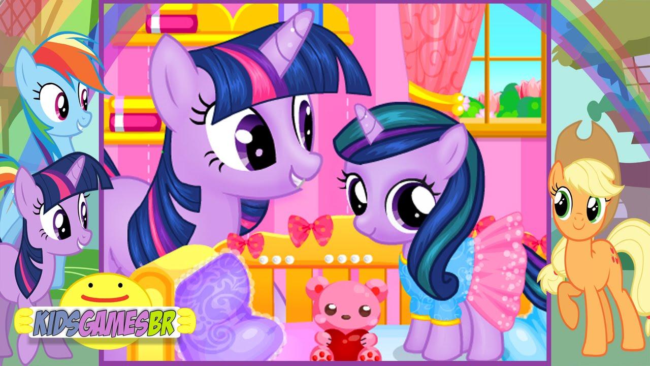 Twilight Sparkle Baby Birth - My Little Pony Games