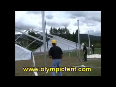 Assembly and dis-assembly of the Olympic Tent System - Part 1