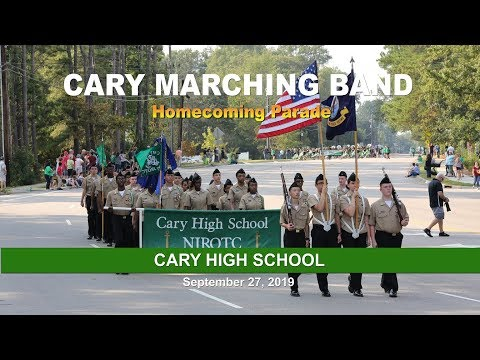 Cary High School Homecoming Parade 2019 (Extended)