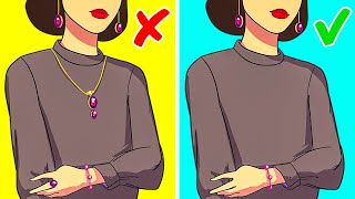 31 STYLE TIPS AND CLOTHING HACKS EVERY WOMAN MUST KNOW