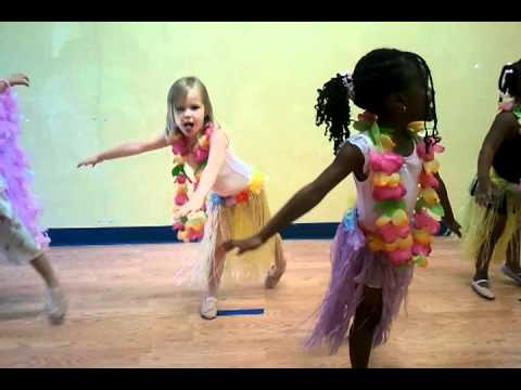 Hawaiian Rainbow - ballet dance