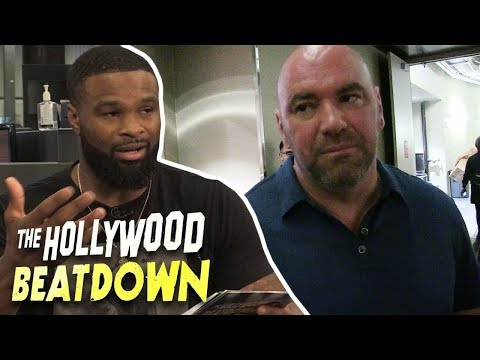 Tyron Woodley Squashes His Beef With Dana White   The Hollywood Beatdown