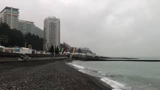 12.01.2019 Погода в Сочи в январе. Смотри на Чёрное море каждый день.