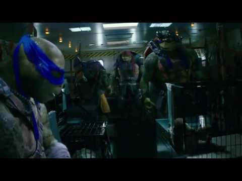 TMNT: Out Of The Shadows argument scene
