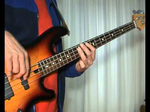 The Outfield Your Love Bass Cover Youtube