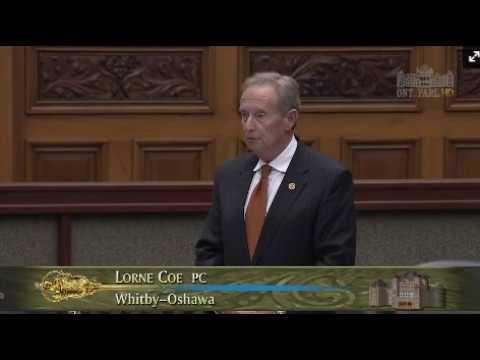 MPP Coe  Legislative Assembly of Ontario September 12, 2017