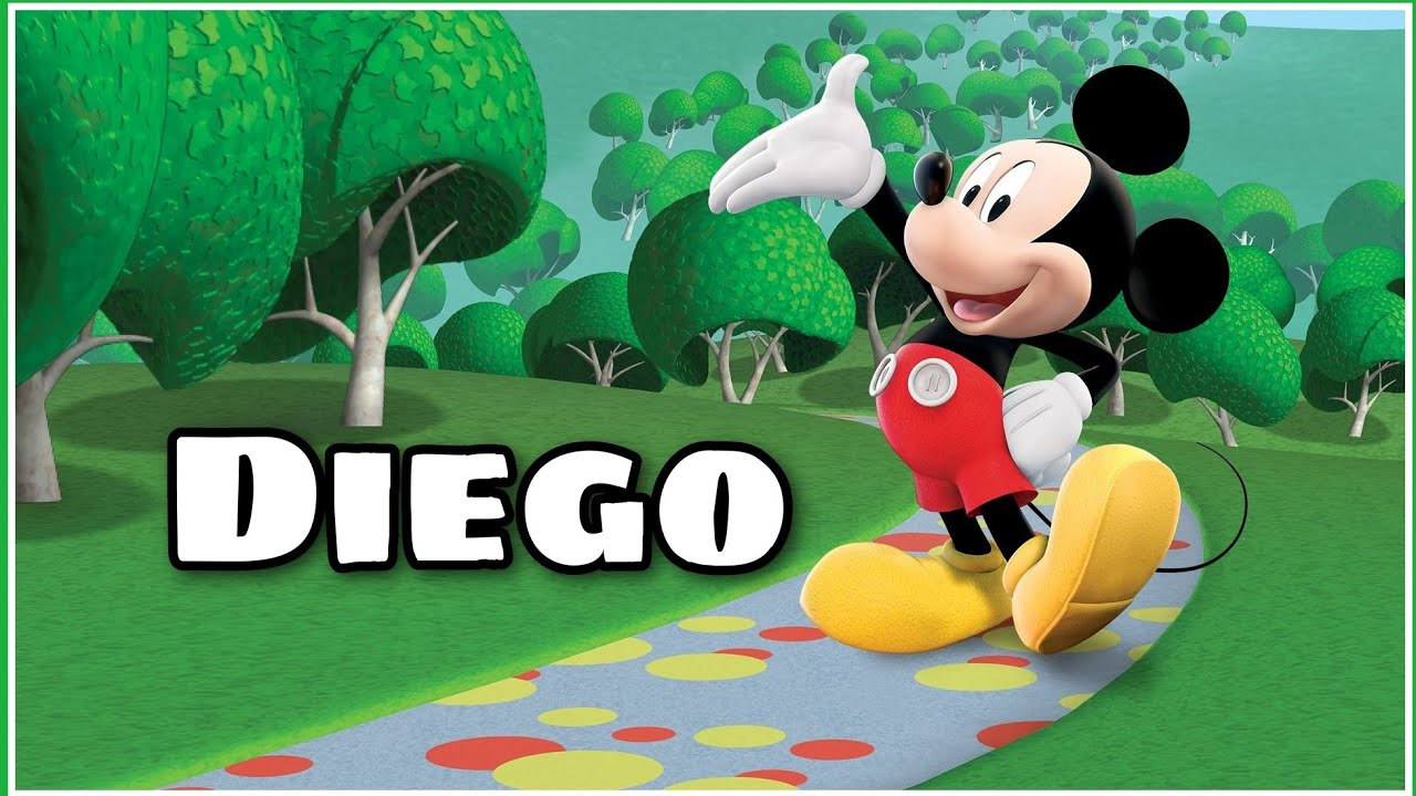 Canción Feliz Cumpleaños Diego Con Mickey Mause Baila Y Canta Cumpleaños Feliz Con Gd Fiestas Youtube