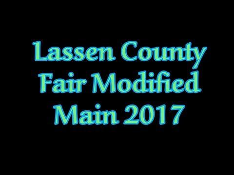 Lassen County Fair Modified Main 2017