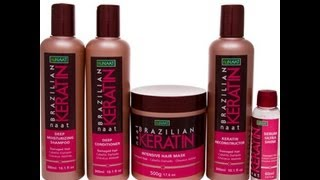 nuNAAT Giveaway Brazilian Keratin Full Hair Care Line & Review {Closed}