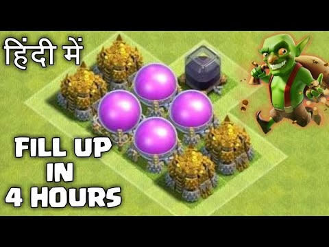 How to Fill up Storages Very Fast in Clash of Clans