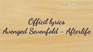 Avenged Sevenfold - Afterlife (lirik)