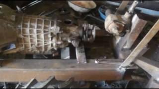 Самодельный минитрактор переломка 4х4. Трансмиссия.\Homemade tractor 4x4 perelome. Transmission.