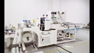 Innovation IML upgrading half-cutting system, label rotary die cutting machine