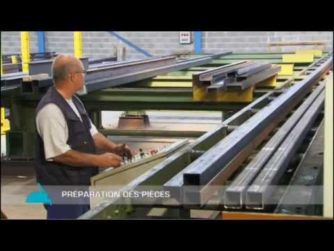 Smb étapes De Fabrication D Une Charpente Métallique