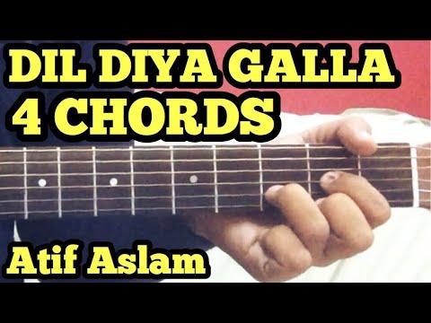 Dil Diyan Gallan Guitar Chords Lesson | Atif Aslam | Tiger Zinda Hai | Salman Khan | Katrina Kaif