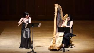 Schaposhnikoff: Sonata for flute and harp - 1. Andante con moto - Allegro ma non troppo
