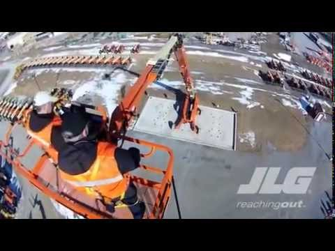 JLG 1850SJ Telescopic Boom Lift at ABLE Equipment Rental
