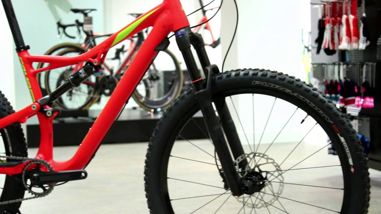Specialized Camber Fsr Carbon Mountain Bike 2017 Youtube