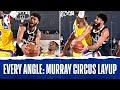 Every Angle: Jamal Murray's CIRCUS LAYUP 😱
