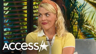 """Busy philipps joined access daily hosts kit hoover and mario lopez got real about motherhood. """"i don't find any value in shielding my kids from everythin..."""