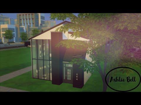 Sims 4|Dark Loft|Video Tour|CC Links