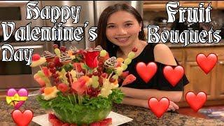 Edible Fruit Bouquets - How to make fruit bouquet - Fruit Bouquet - Cách làm giỏ hoa trái cây