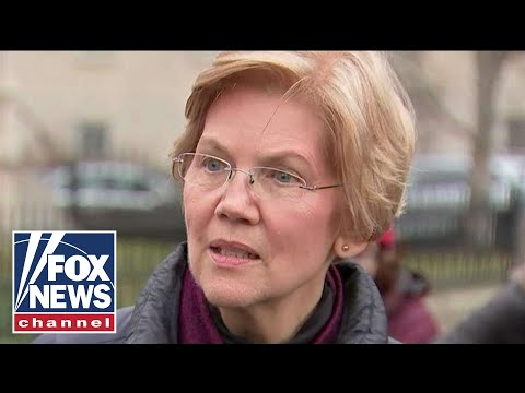 Elizabeth Warren holds presser after announcing 2020 bid