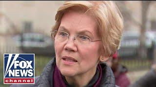 Elizabeth Warren holds presser after announcing 2020 bid