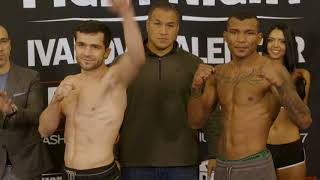 PFL: Fight Night Ceremonial Weigh-Ins & Face Offs